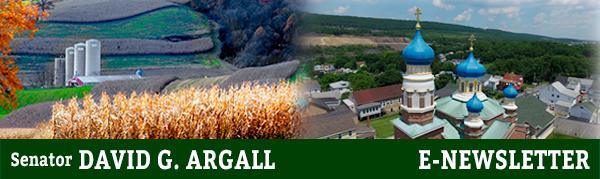 Senator David Argall E-Newsletter